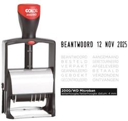 Woord-datumstempel Colop S2000 met 12 teksten