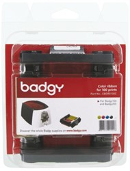 Kaartprinter Badgy 200 kleurencartridge CMYK