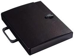 Koffer Klapr A4 30mm glanskarton zwart