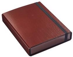 Elasto-opbergbox Klapr 50mm kroko bruin