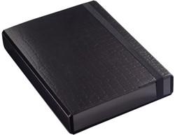 Elasto-opbergbox Klapr 50mm kroko zwart