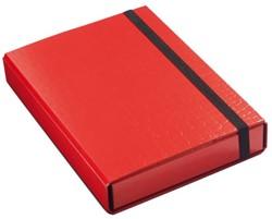 Elasto-opbergbox Klapr 50mm kroko rood