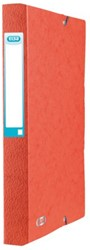 Elastobox Elba A4 40mm met rugetiket rood