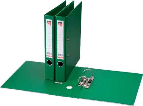 Ordner Quantore A4 50mm PP groen