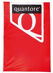 Vlag huismerkvlag Quantore 150x225cm
