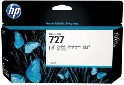 Inktcartridge HP B3P23A 727 130ml foto zwart