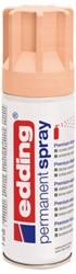 Verfspuitbus edding 5200 permanent spray mat powdery perzik