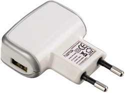 Oplader Hama USB voor Apple 500mA wit