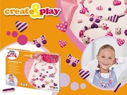 Klei Fimo Kids Staedtler create & play sieraden hart