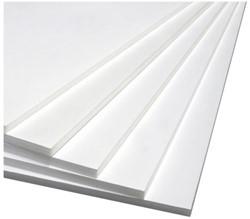 Foamboard 50x70cm 2-zijdig 5mm wit