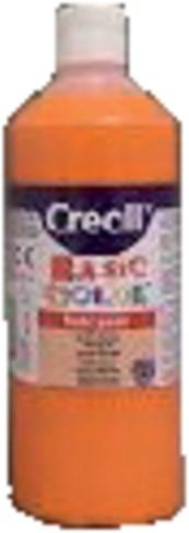 Plakkaatverf Creall basic 04 oranje 500ml