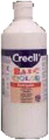 Plakkaatverf Creall basic 21 wit 500ml