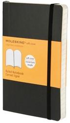 Notitieboek Moleskine lijn pocket 90x140mm zachte kaft