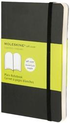Notitieboek Moleskine blanco pocket 90x140mm zachte kaft