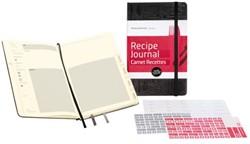 Passion Journal Moleskine recepten large 130x210mm zwart