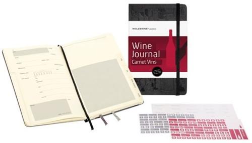 Passion Journal Moleskine wijn large 130x210mm zwart