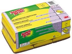 Schuurspons 3M Scotch Brite cash&carry geel