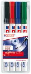Cd marker edding 8400 rond assorti 0.5-1.0mm etui à 4st
