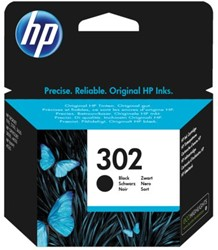 Inkcartridge HP F6U66AE 302 zwart