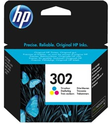Inkcartridge HP F6U65AE 302 kleur