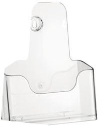 Folderhouder Nedco 37720 1xA5 staand/hangend transparant