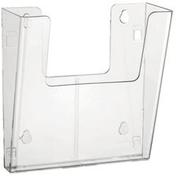 Folderhouder Nedco 39700 wand 4xA4 staand glashelder
