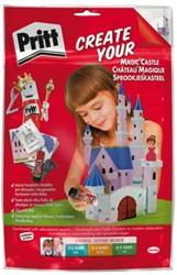 Knutsel Pritt crafting kit kasteel
