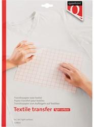 Transferpapier voor textiel Quantore lichte kleding
