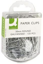 Paperclip Q-Connect 30mm gegalvaniseerd