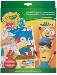 Kleur box Crayola Color Wonder Minions