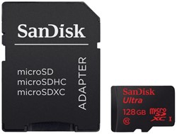 Geheugenkaart Sandisk Micro SDXC Class10 Android 128GB