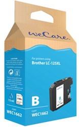 Inkcartridge Wecare Brother LC-125XL blauw