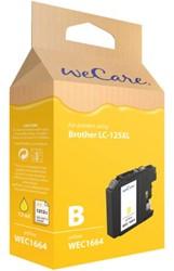 Inkcartridge Wecare Brother LC-125XL geel