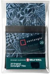 Fineliner Sakura Zentangle tiles 20delig zwart