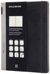 Notitieboek Moleskine extra large 190x250mm zwart