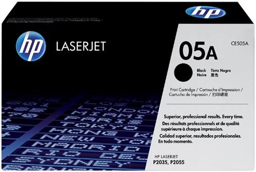 Tonercartridge HP CE505A 05A zwart