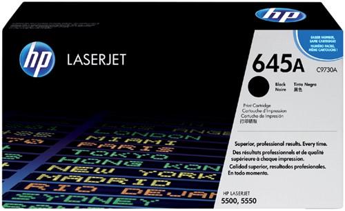 Tonercartridge HP C9730A 645A zwart