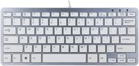 Ergonomisch toetsenbord R-Go Tools Compact Qwerty zilver-wit-3