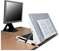 Ergonomische documentenhouder R-Go Tools U Slope Pro-2