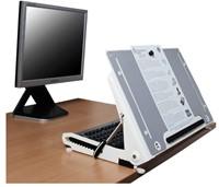 Ergonomische documentenhouder R-Go Tools U Slope Pro-4