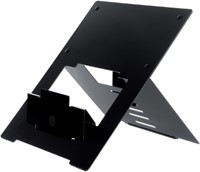 Ergonomische laptopstandaard R-Go Tools Riser zwart-3