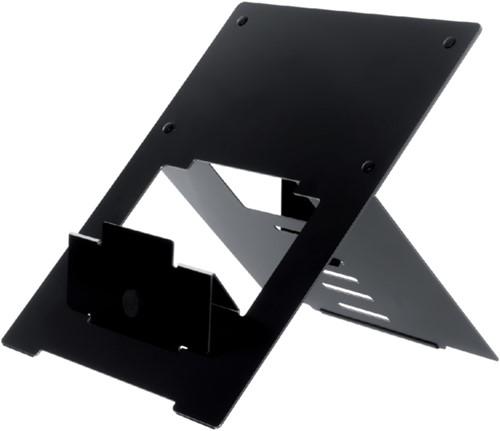 Ergonomische laptopstandaard R-Go Tools Riser zwart