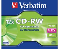 CD-RW Verbatim 700MB 80min 12X jewelcase-1