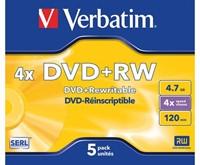 DVD+RW Verbatim 4.7GB 4x jewelcase-2