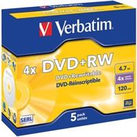 DVD+RW Verbatim 4.7GB 4x jewelcase-1