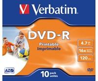DVD-R Verbatim 4.7GB 16x printable jewelcase-1