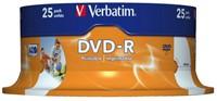 DVD-R Verbatim 4.7GB 16x printable spindel 25stuks-1