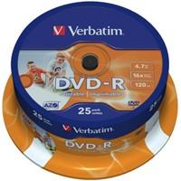 DVD-R Verbatim 4.7GB 16x printable spindel 25stuks-2