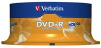 DVD-R Verbatim 4,7GB 16X spindel 25stuks-1