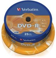 DVD-R Verbatim 4,7GB 16X spindel 25stuks-2